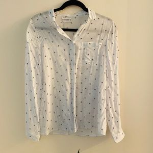 Pull&Bear NWOT starfish button up shirt size S